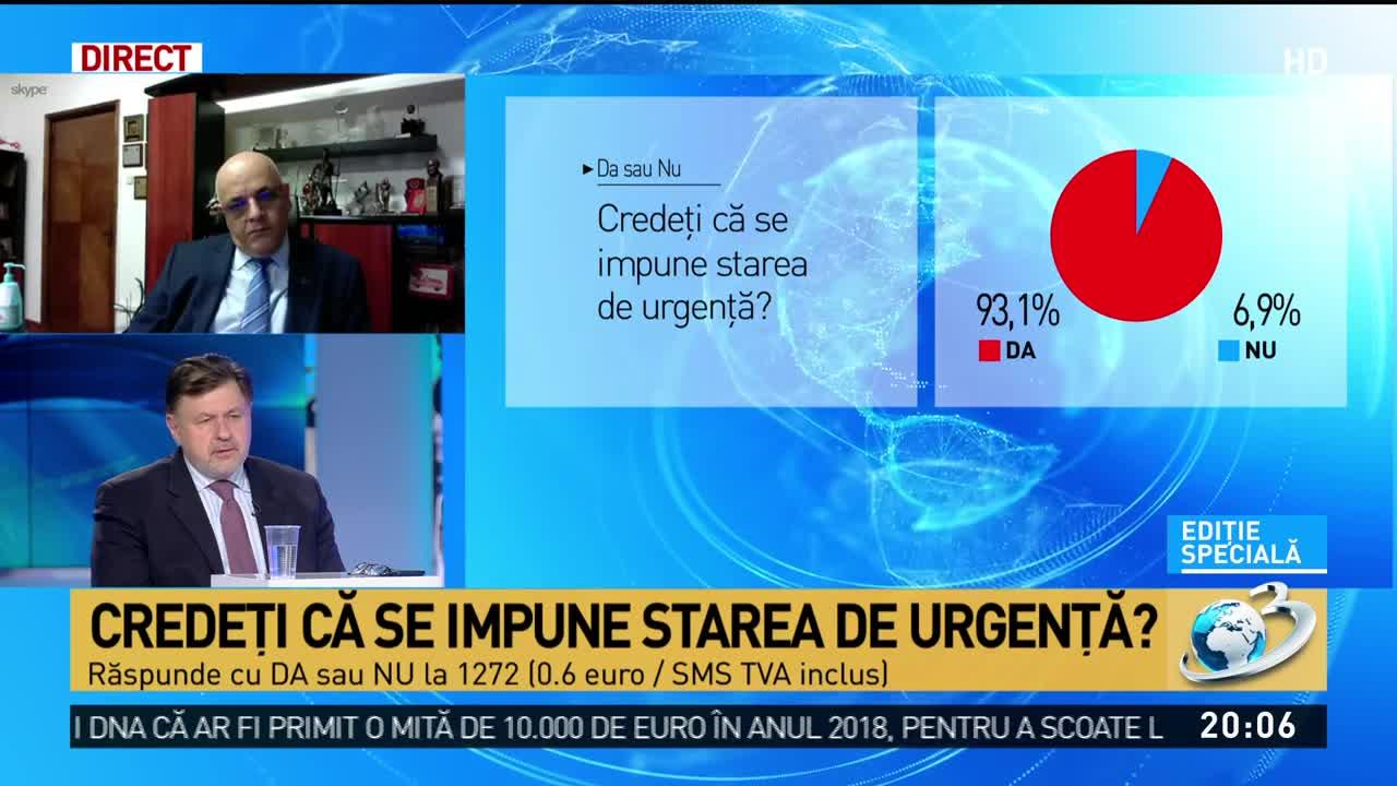 Alexandru Rafila, anunț despre coronavirus: Zilele următoare pot fi sute de persoane infectate în România