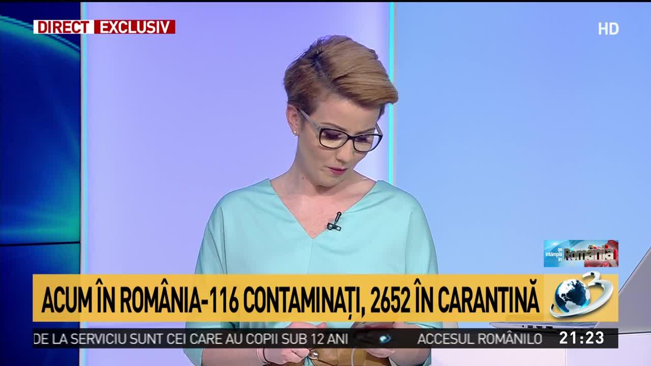 116 cazuri de coronavirus în România. Două dintre persoanele infectate, asistente medicale în Hunedoara