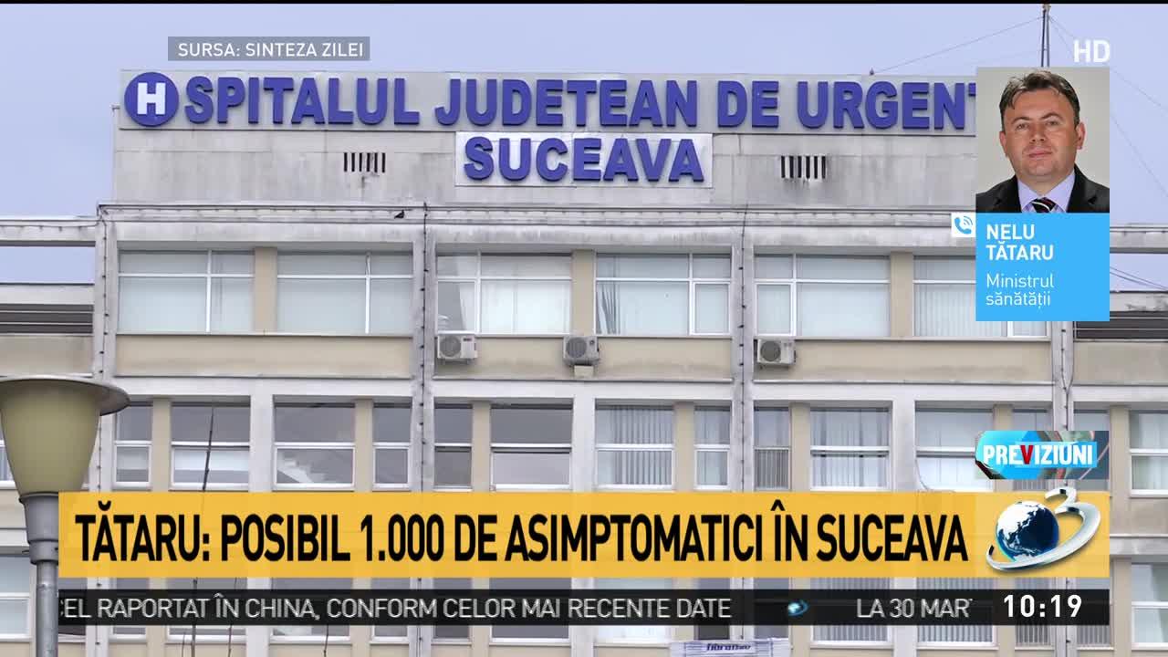 Nelu Tătaru: Posibil 1.000 de asimptomatici în Suceava