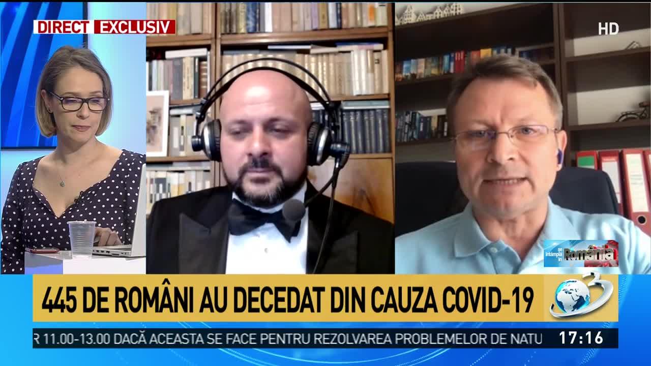 Hozoc: Aparatele de tratare COVID-19 nu pot fi folosite din cauza birocrației. Nu avem ghid, adică terapia nu e aprobată în România