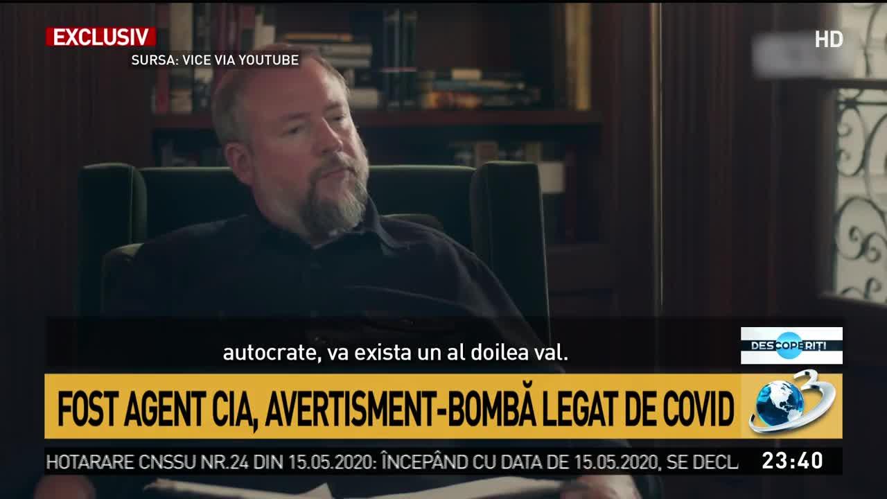 Fost agent CIA, teorie incendiară legată de COVID-19