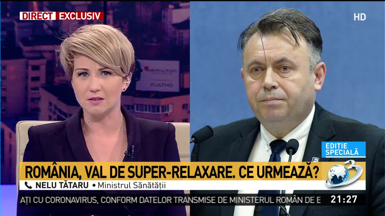 """Nelu Tătaru trage un semnal de alarmă: """"Avem transmitere comunitară accentuată! Facem un apel către populație!"""""""