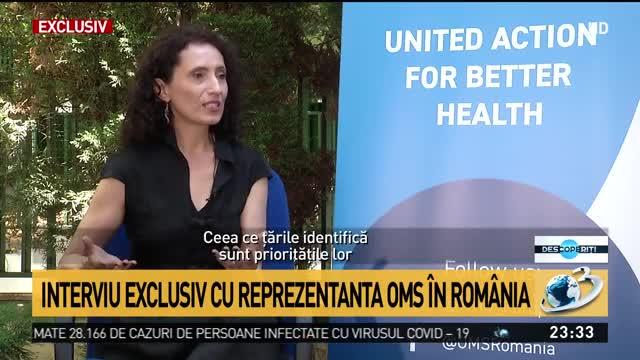 Interviu exclusiv cu reprezentanta OMS în România