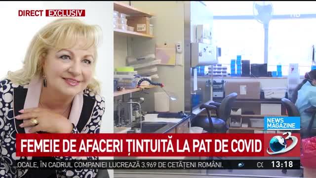 """Femeie de afaceri infectată cu Covid-19, externată după 62 de zile: """"A fost cumplit, inuman. 15 teste pozitive"""""""