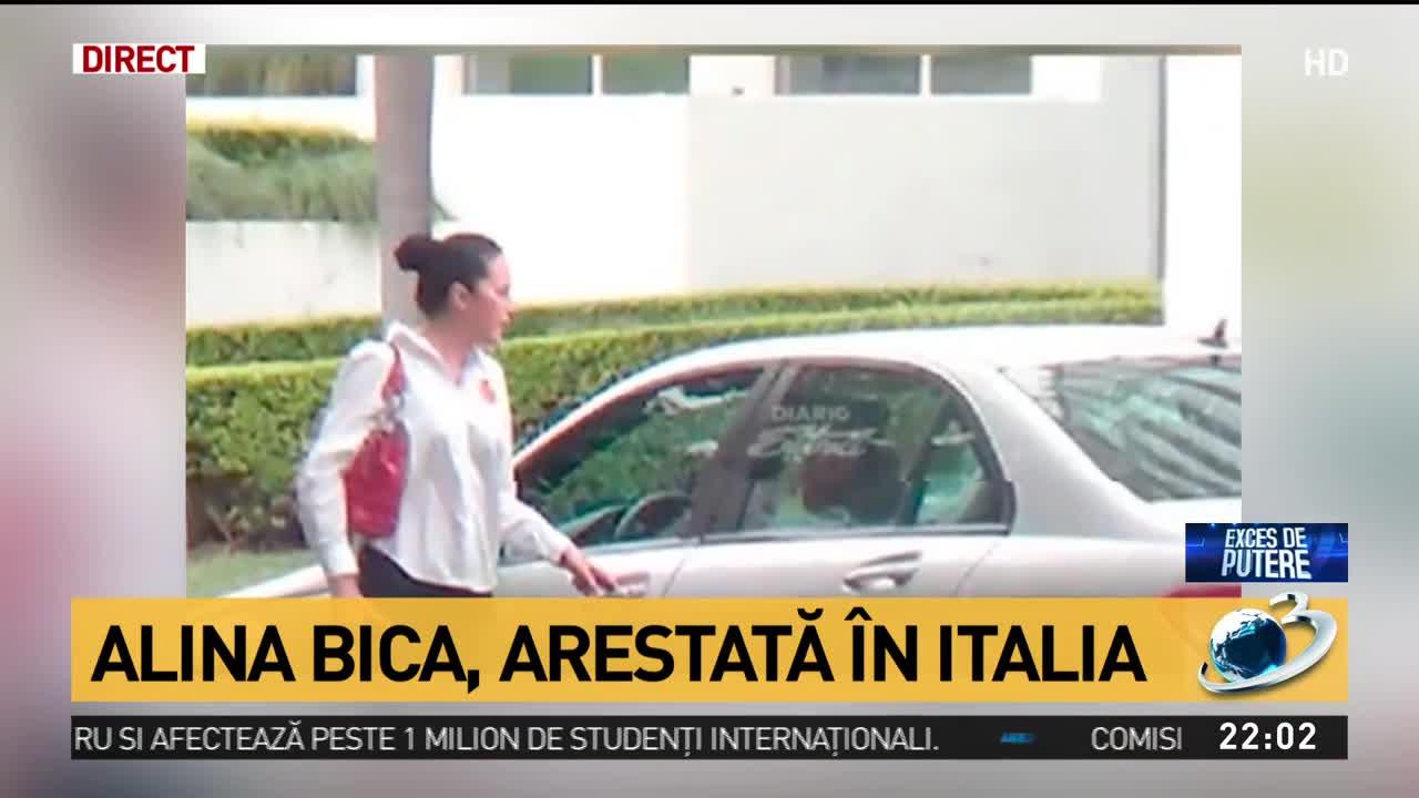 Alina Bica, arestată în Italia. Reacția Elenei Udrea