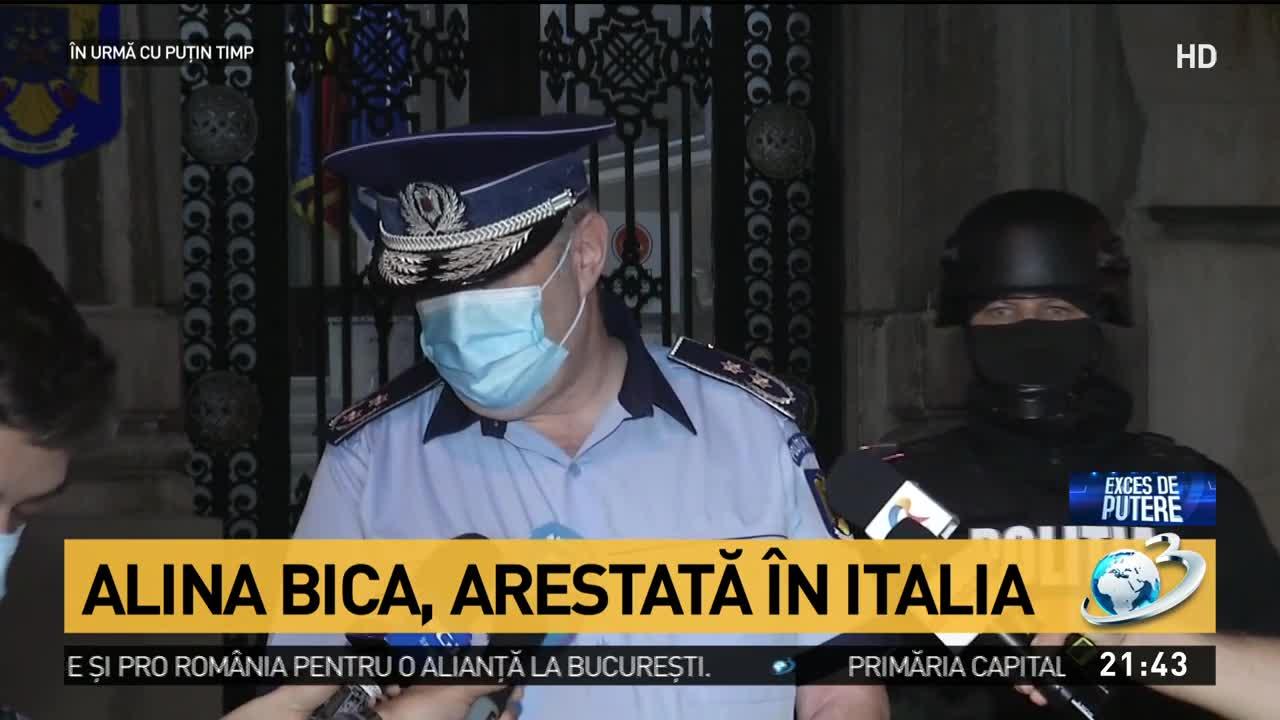 Alina Bica, arestată în Italia