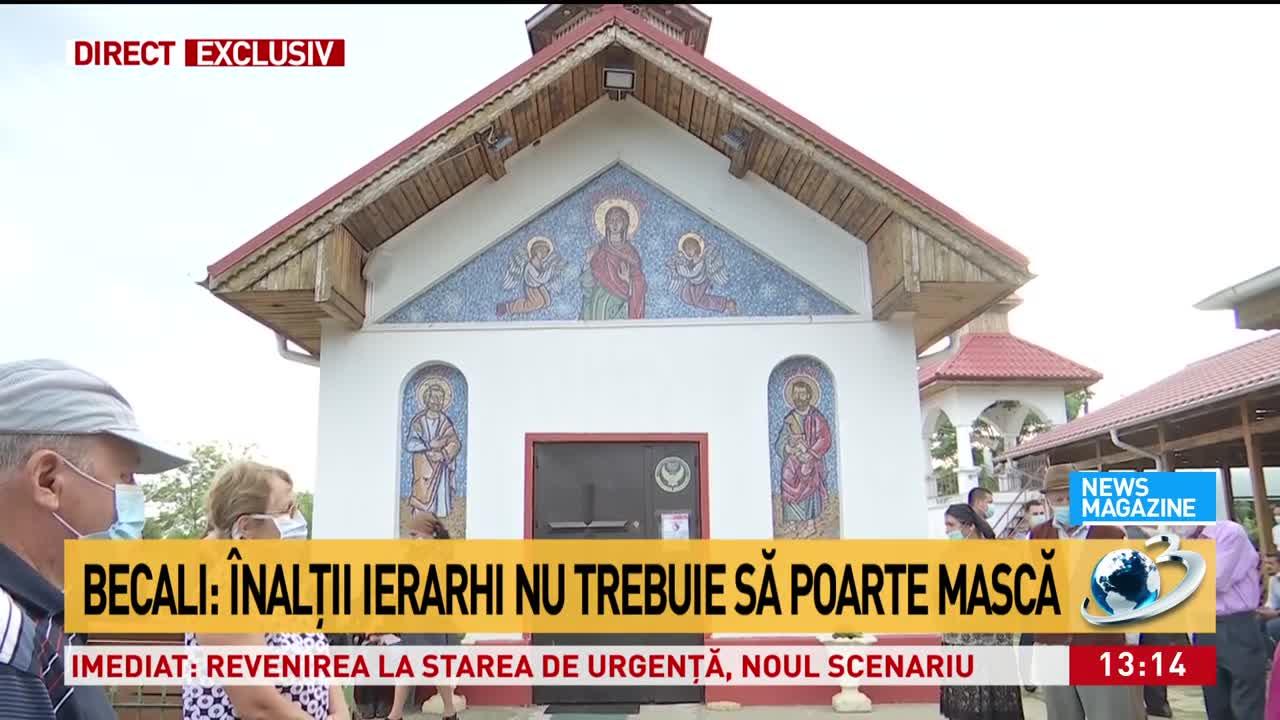 """Gigi Becali a răbufnit: """"Dacă mă duc la Biserică, nu se apropie toate miliardele de coviduri de mine"""""""