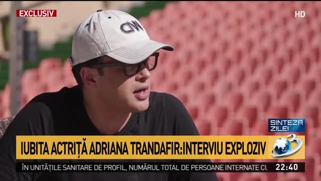 Iubita actriță Adriana Trandafir, interviu exploziv la Sinteza zilei