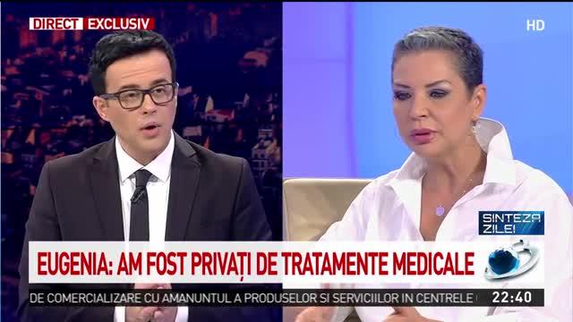 """Eugenia Șerban: """"Toți pacienții Spitalului Colentina au fost privați de tratamentele medicale din cauza COVID-19. Mi-a fost refuzat dreptul la sănătate"""""""