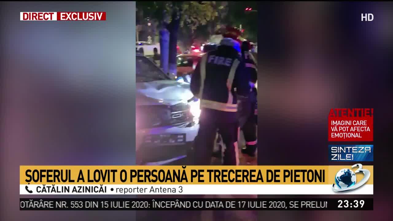 Accident tragic în Capitală! Un pieton mort, mai mulți răniți. IMAGINI ȘOCANTE!