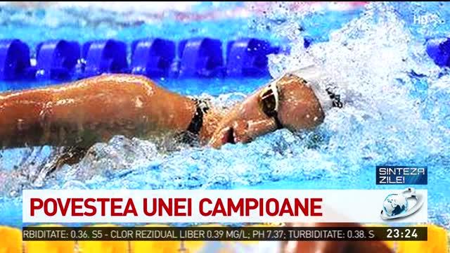 Ana Dascăl, cea mai tânără înotătoare care a participat vreodată la Jocurile Olimpice, campioana abandontată de România