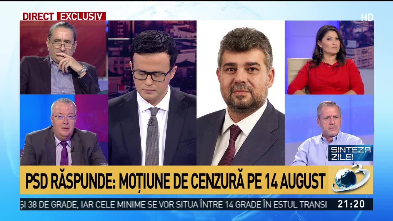 """Marcel Ciolacu, dezvăluiri șoc la Sinteza Zilei: """"Iohannis nu poate să recunoască..."""""""
