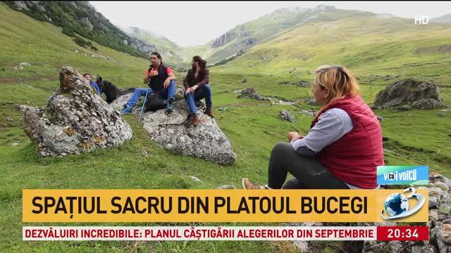 Tradițiile dacice păstrate în platoul Bucegi