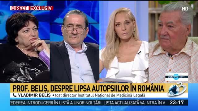 Prof. Vladimir Beliș, despre lipsa autopsiilor în România