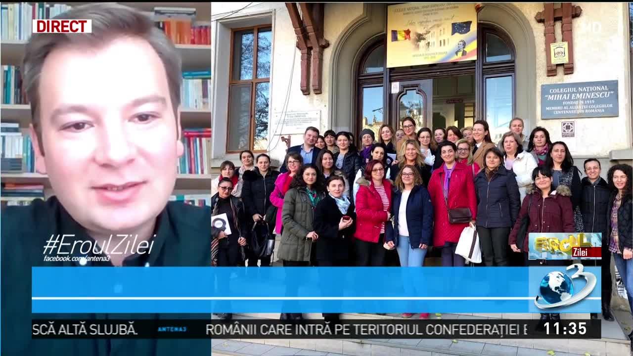 Profesor de limba română din Târgu-Mureş care adaptează cursurile la nevoile elevilor