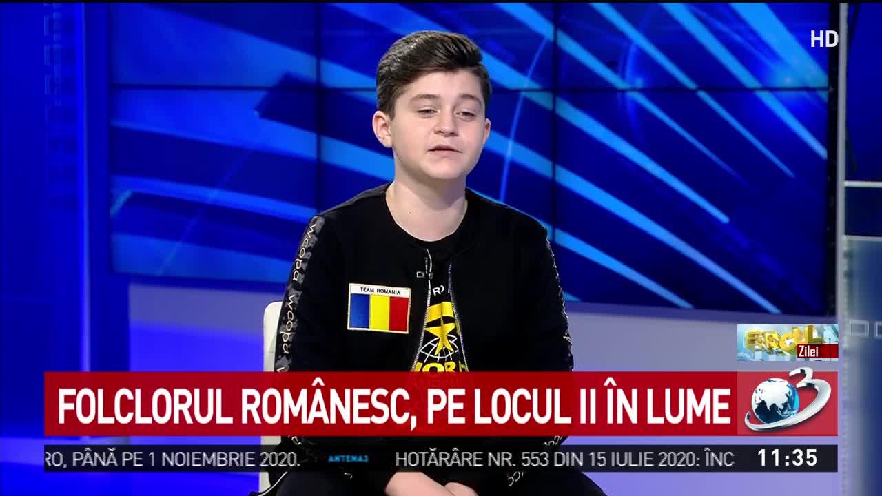 Folclorul Românesc , pe locul II în lume