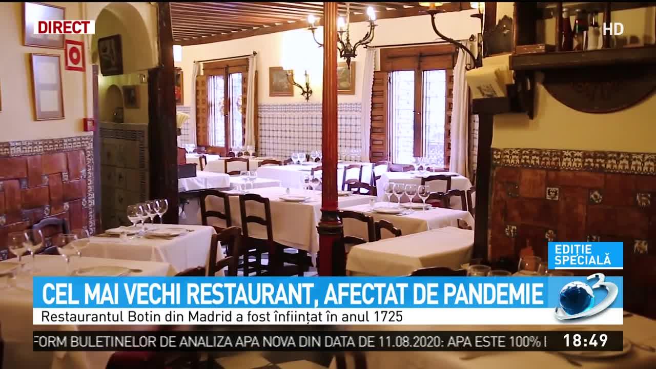 Cel mai vechi restaurant din lume, afectat de pandemie