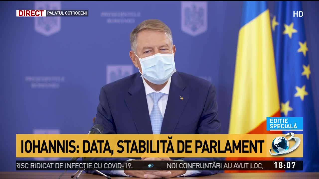 Klaus Iohannis: Nu văd cu ochi buni racolările de la PSD!