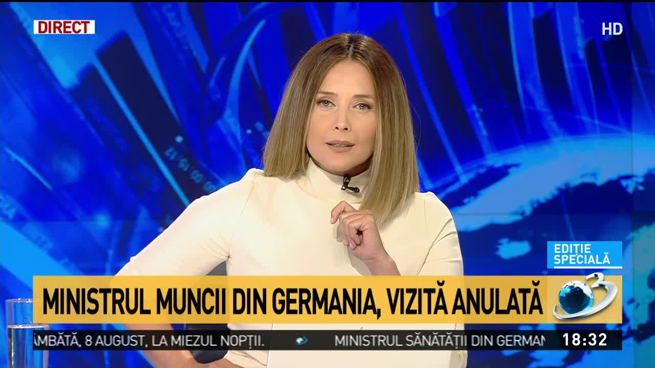 Ministrul Muncii din Germania și-a anulat vizita în România, înainte de a pleca spre aeroport. De ce l-a lăsat baltă pe Ludovic Orban
