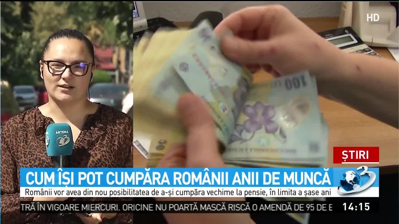 Cum își pot cumpăra românii anii de muncă