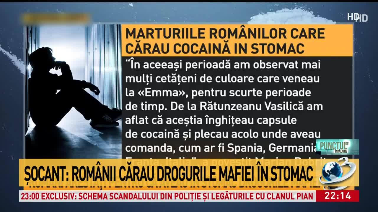 Mărturii șocante ale sclavilor români, care lucrează pentru cei mai mari traficanți de droguri: Cum ascundeau victimele droguri în stomac