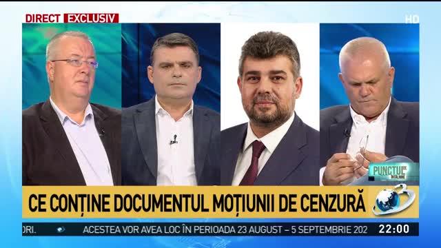 Marcel Ciolacu: Moțiunea de cenzură împotriva Guvernului va trece. Ce conține documentul