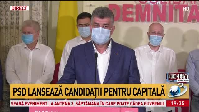 PSD lansează candidații pentru Capitală