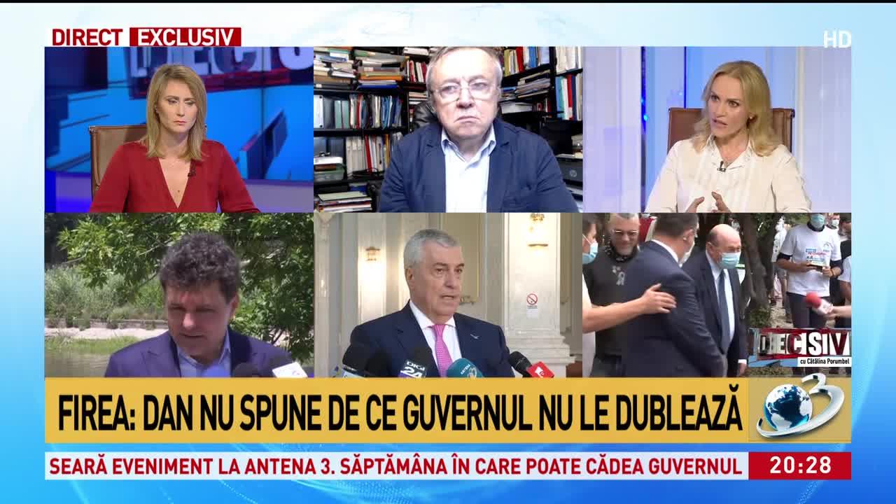 Gabriela Firea îl spulberă pe Nicușor Dan: Spune că pensionarii sunt pomanagii. Cred că părinții și bunicii noștri nu trebuie umiliți!