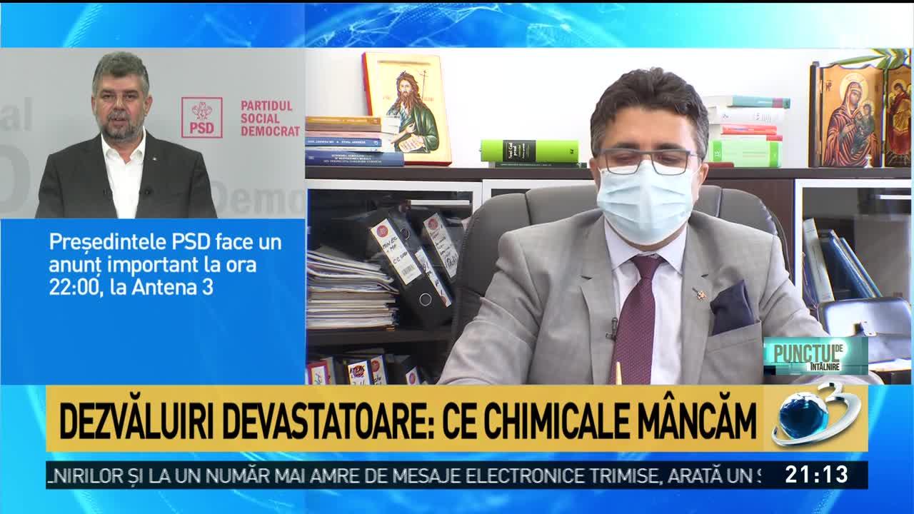 Topul celor mai contaminate alimente de pe rafturile magazinelor din România: Iată ce chimicale consumăm