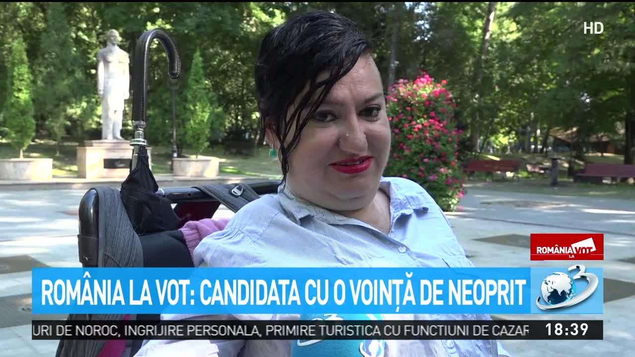 România la vot. Candidata cu o voință de neoprit