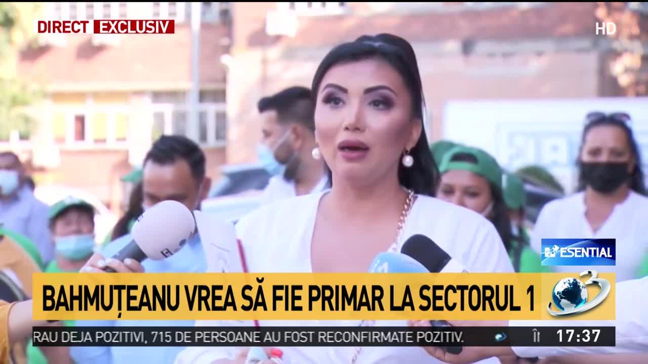 Bahmuțeanu își anunță candidatura la Primăria Sectorului 1