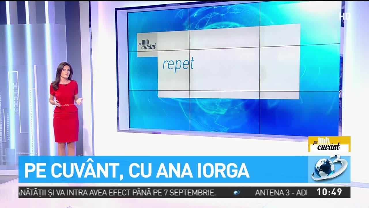 Ana Iorga: Clişeul meu preferat de la ştiri este ''mai mult decât atât''