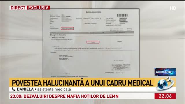 Halucinant! O asistentă medicală a stat în izolare 7 săptămâni din cauza testelor COVID-19 'neconcludente'