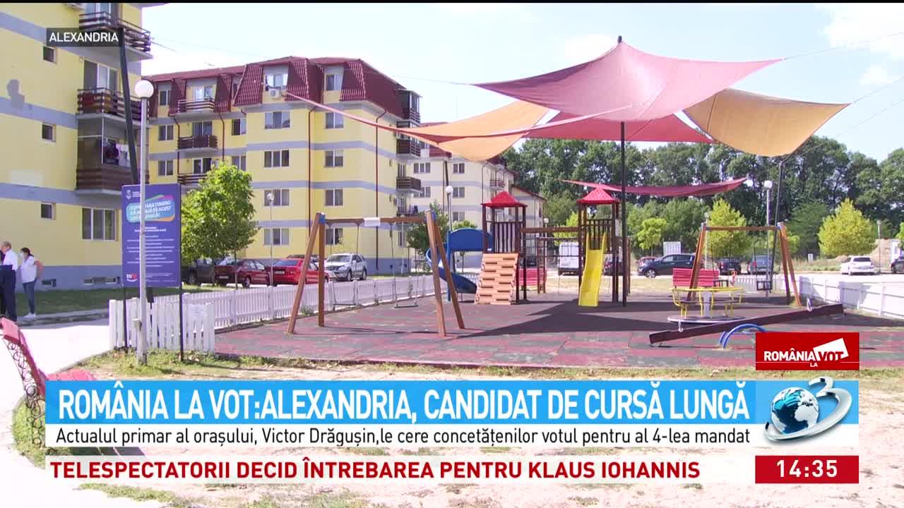 România la vot. Alexandria, candidat de cursă lungă