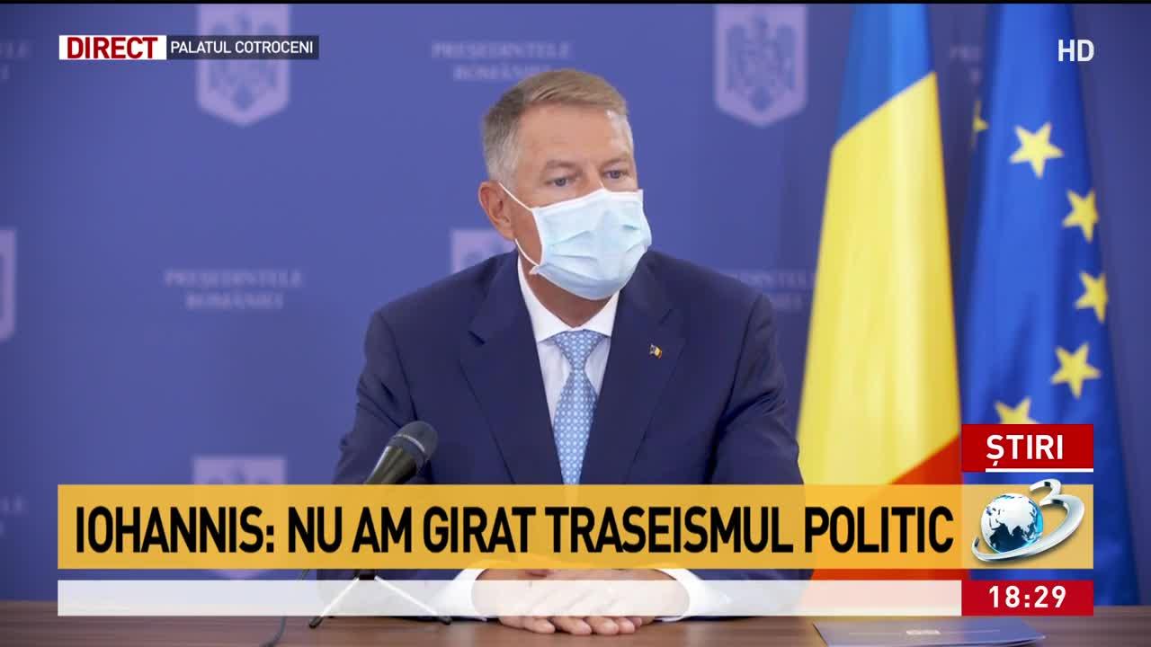 Iohannis, declarații de ultimă oră