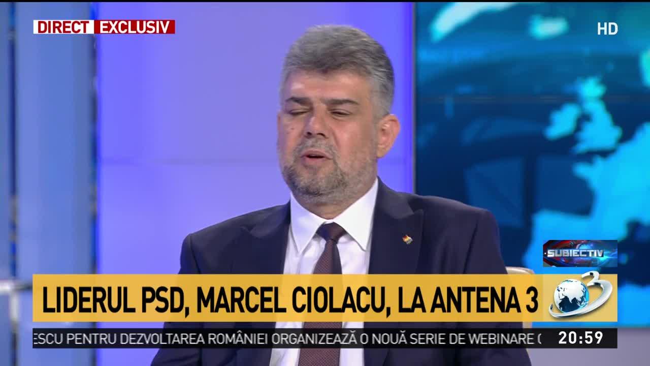 Ciolacu: Guvernul Orban trebuie să plece repede