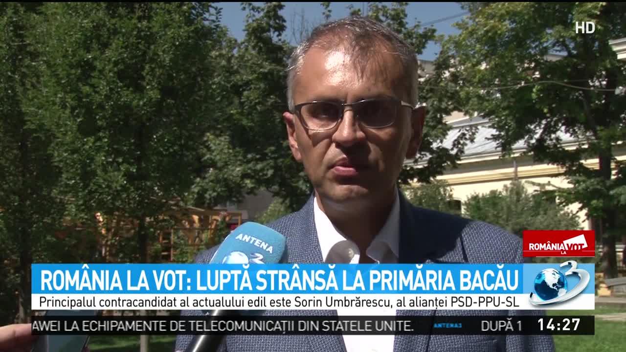 România la vot. Luptă strânsă la Primăria Bacău