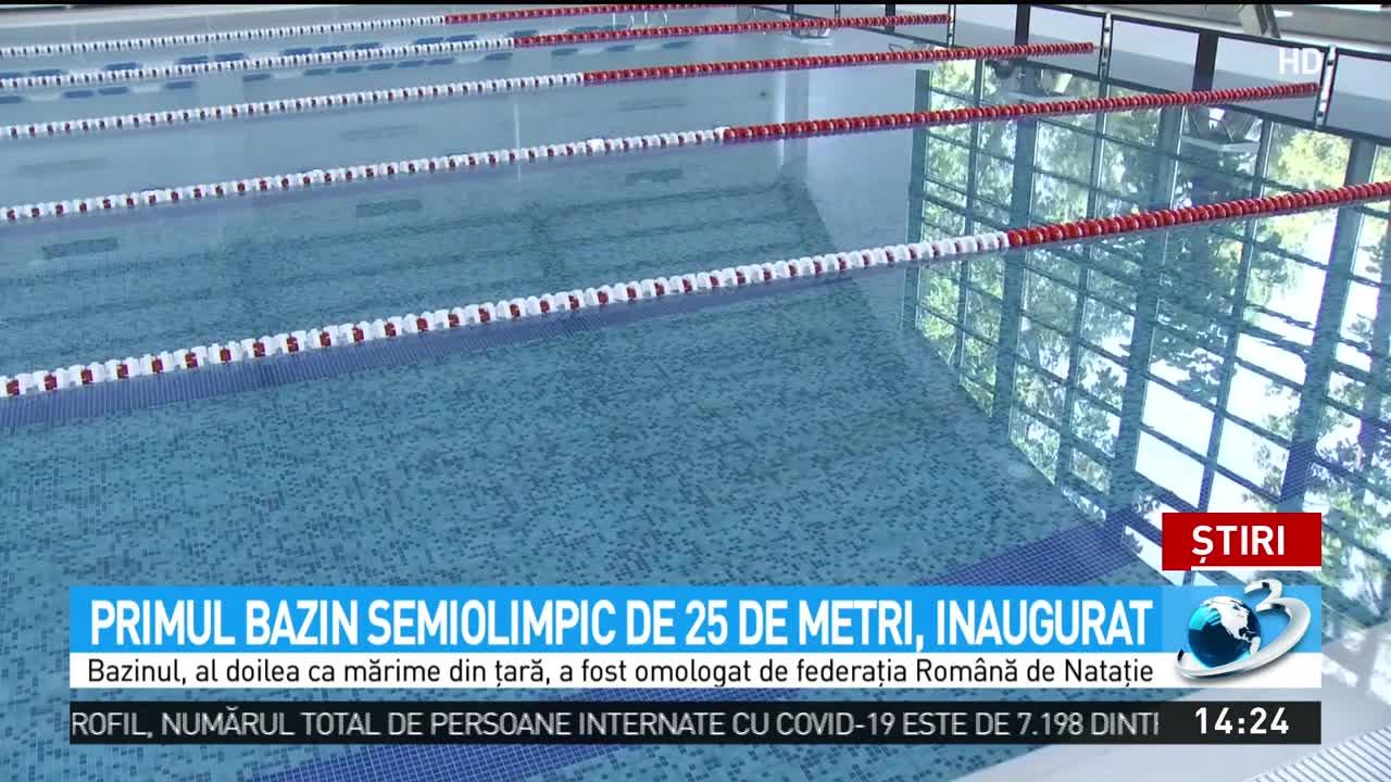 Veste bună pentru copii! S-a deschis primul bazin semiolimpic, iar cursurile de înot sunt gratuite