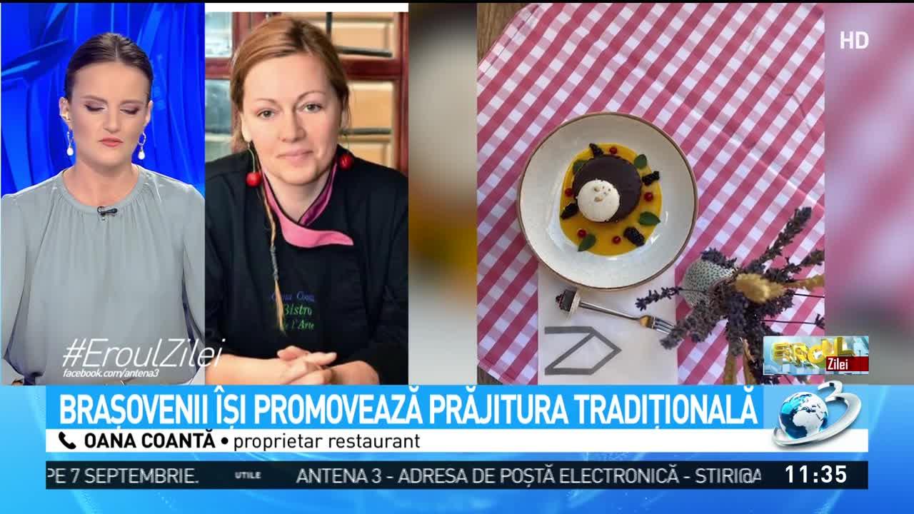 Işlerul, desertul care a devenit vetetă la Braşov. Oana Coantă, despre cum a readus la viaţă celebra prăjitură