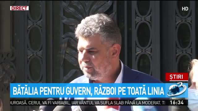 Bătălie pentru Guvern. Marcel Ciolacu, anunțul momentului