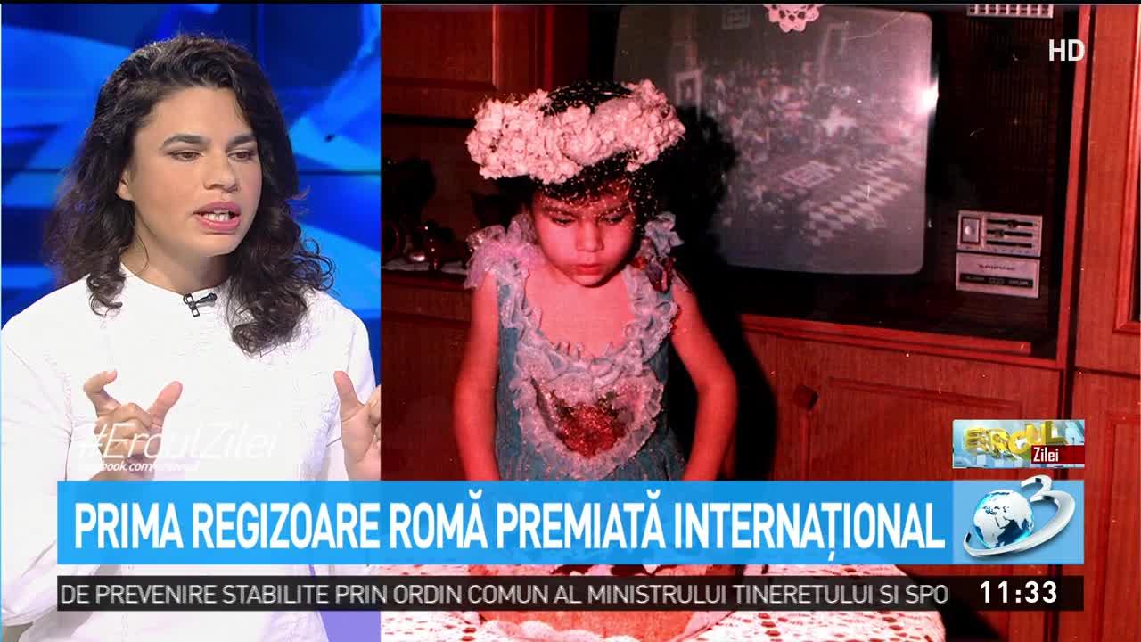 Alina Şerban, prima regizoare romă premiată internaţional