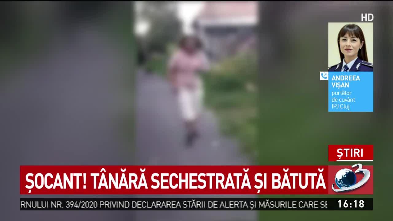 Șocant! O tânără din Cluj a fost sechestrată și bătută