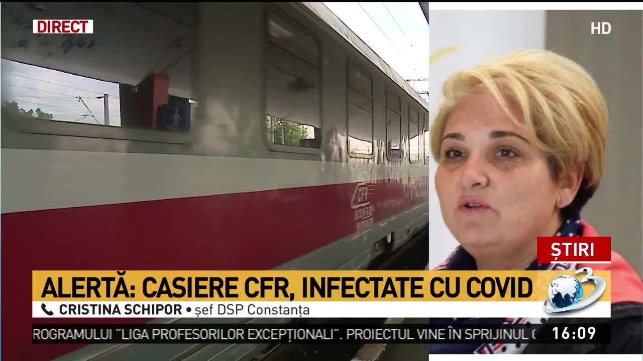 Focar de COVID-19 la Gara CFR Constanța. O casieră a murit, alte trei colege au fost internate