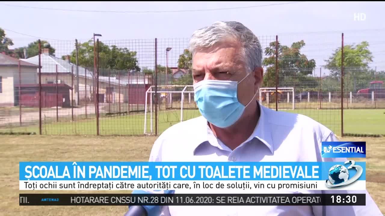 Şcoala în pandemie, tot cu toalete medievale
