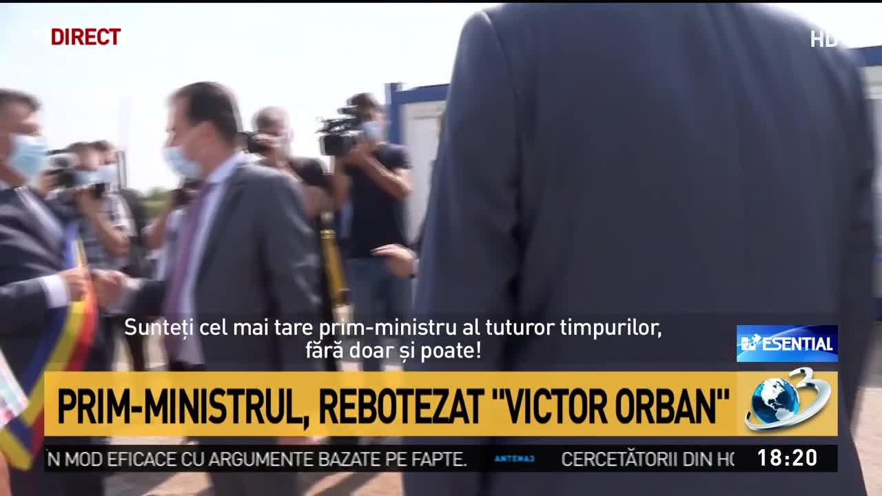 Prim-ministrul, rebotezat ''Victor Orban''
