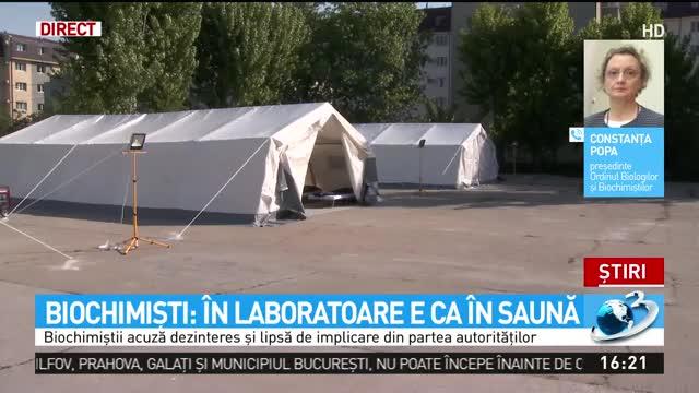 De ce se fac teste puține de COVID-19 în România