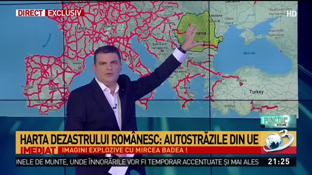Radu Tudor prezintă harta dezastrului românesc: Ceea ce se întâmplă este un blestem şi mă doare pentru ţara mea!