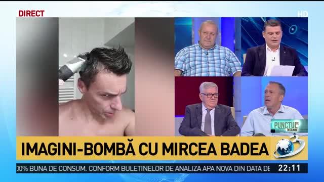 """Imagini-bombă cu Mircea Badea. Realizatorul """"În gura presei"""" a decis să arate cum se tunde singur"""