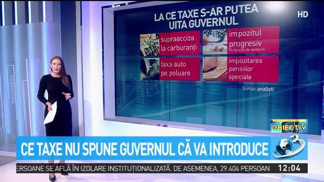 Vești noi pentru români. Ce taxe noi s-ar putea să introducă Guvernul