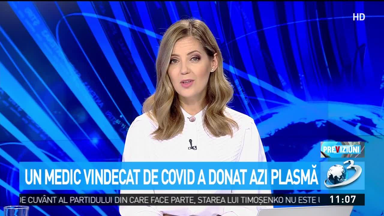 Managerul spitalului Colentina a donat plasmă. Dr. Remus Mihalcea, totul despre această procedură